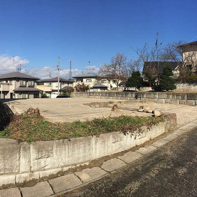 三春町の売地が除染で除草されてスッキリしました。気持ち眺めも良くなりました♪#郡山市 #福島県 #不動産 #土地 #売地 #ニュータウン #三春 #除染 #除草 #郡中 #住宅 #注文住宅 #住宅地